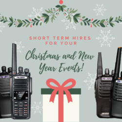 Short term hires for your Christmas and New Year Events!