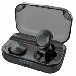 True Wireless Stereo Earbuds – Bluetooth 5 amazing sounds in charger case!