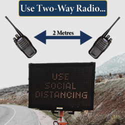 Two-Way Radio for Social DIstancing