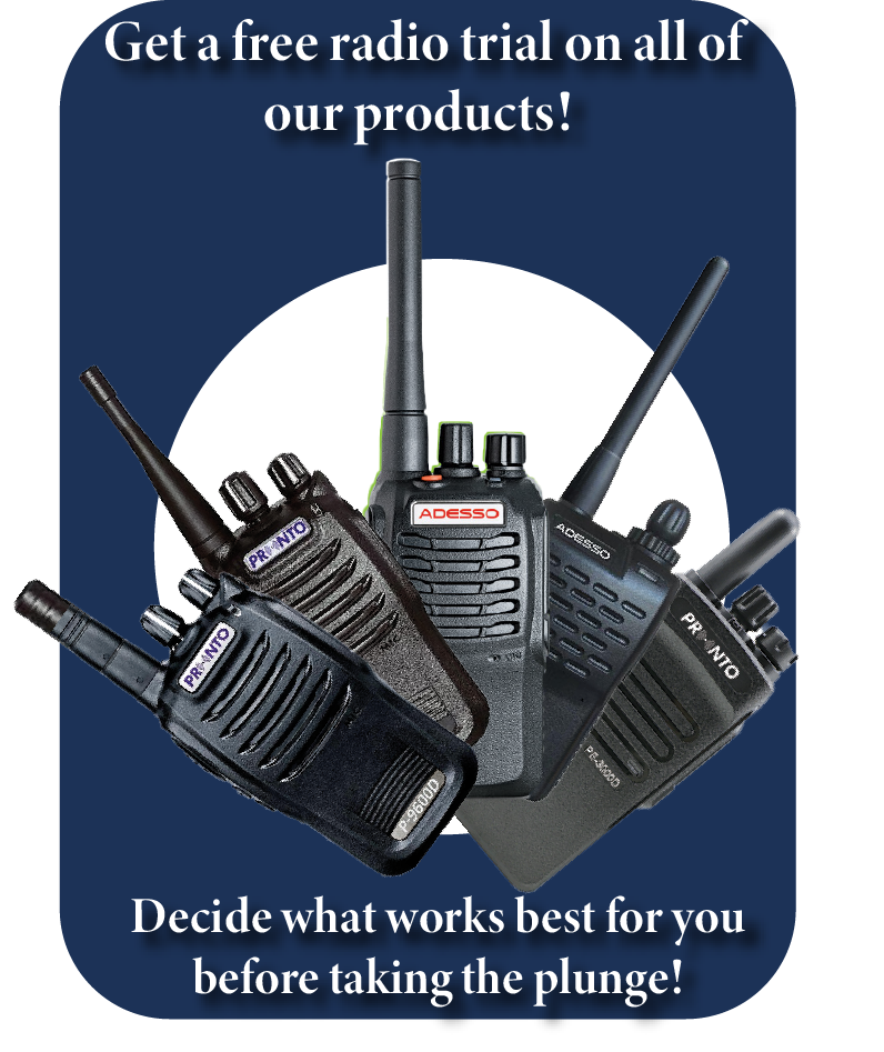 Get a free radio trial through Maximon Solutions!
