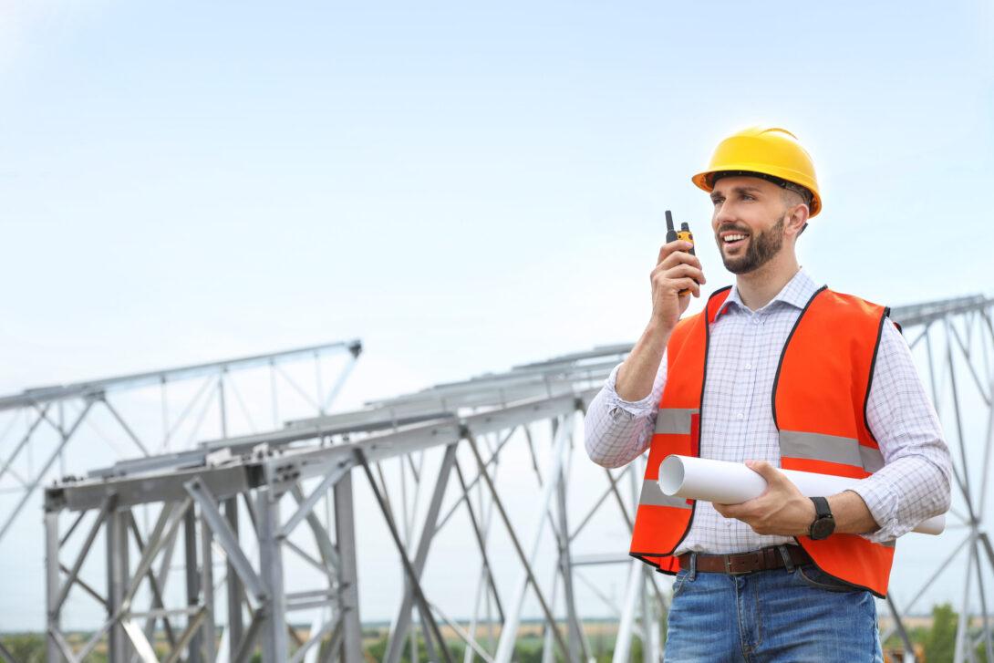 Construction Walkie-talkie Radios